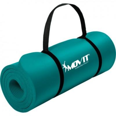Gymnastická podložka MOVIT 183 x 60 x 1 cm - petrolejová