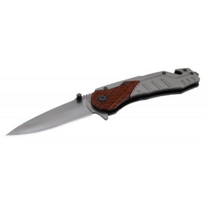 Nôž zatvárací WOOD s poistkou 21 cm