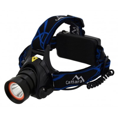 Čelovka LED 400 lm (1 x XM-L + 15 x SMD)