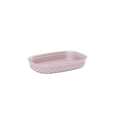 Miska na mydlo FILO - ružová