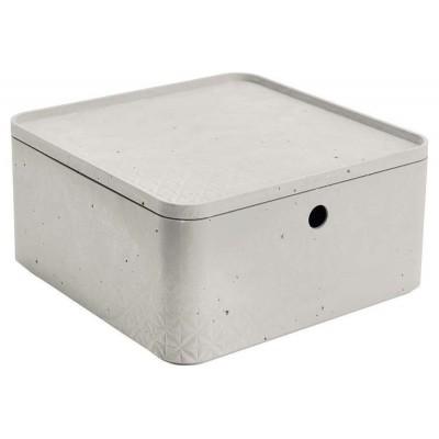 CURVER BETON úložný box s vekom- L
