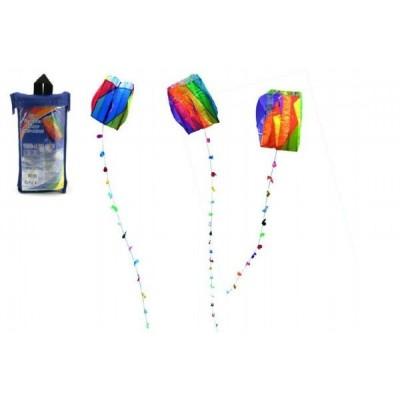 Drak nylon létající 60x51cm - 3 druhy