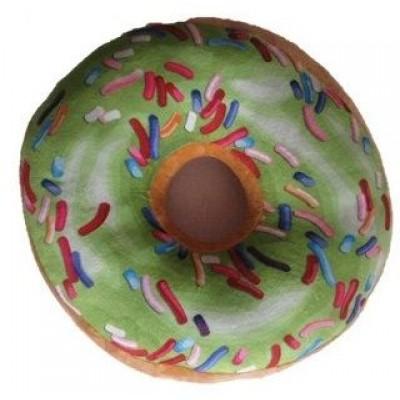 Vankúš donut 3D - zelený