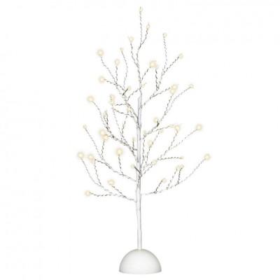 Dekoratívny LED svetelný strom so 48 LED, 60 cm - biely