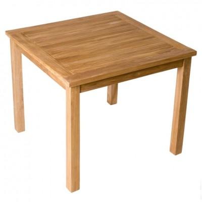 Divero záhradný drevený stôl, 90 x 90 x 75 cm