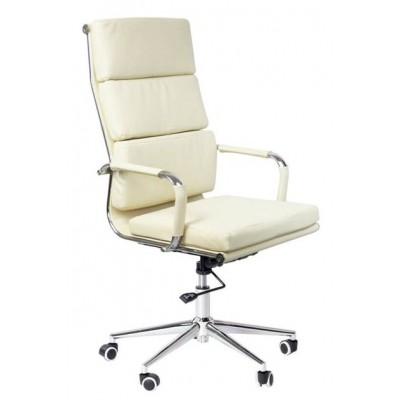 Kancelárska stolička Missouri - krémová