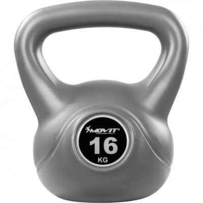 Kettlebell činka sivá - 16 kg