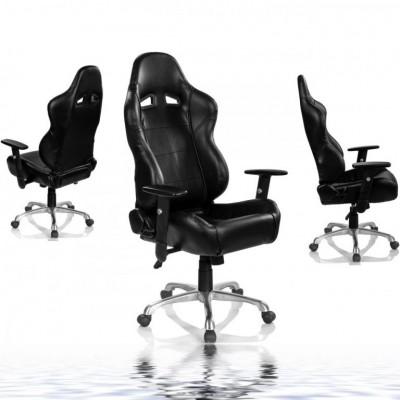 Kancelárska otočná stolička RS Series, čierna