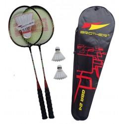 Badmintonové rakety a sady