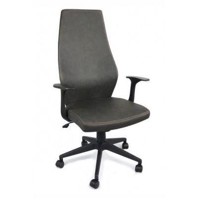 Kancelárska stolička New Jersey - šedá