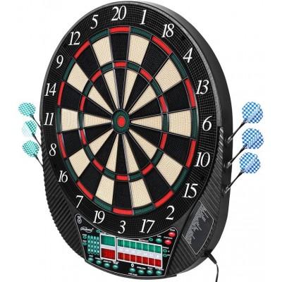 Elektronický terč na šípky pre 16 hráčov + 12 šípok