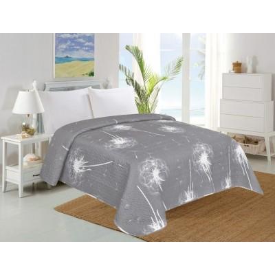 Prehoz na posteľ DANDELION, púpavy- 140 x 220 cm