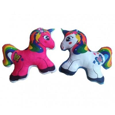 Vankúšik 3D Unicorn - malý