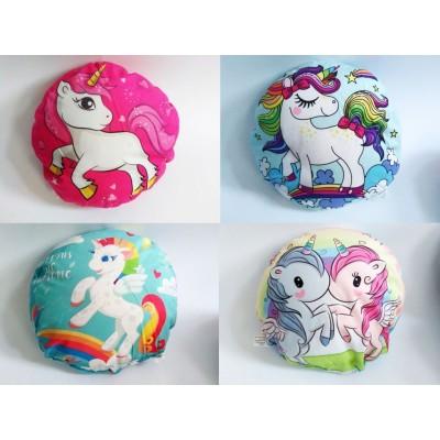 Okrúhly vankúšik - Unicorn