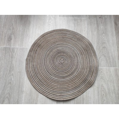 Prestieranie okrúhle 38 cm - hnedozlaté