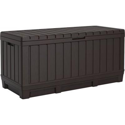 Záhradný box Kentwood, 350 l, hnedý