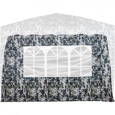 Bočná stena s 3 oknami urban pre stan INSTENT BASIC
