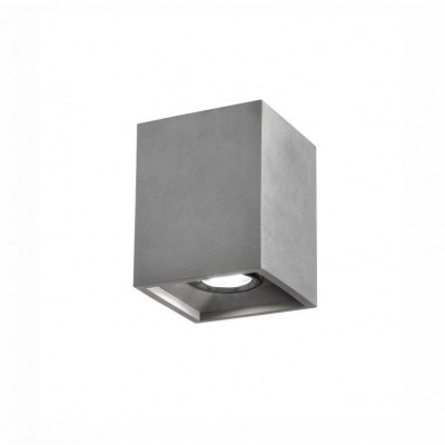 Stropné sivé svietidlo, IP 20