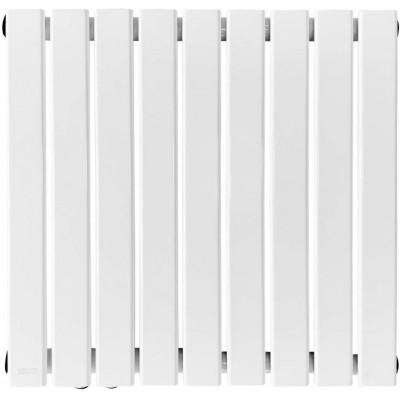 Horizontálny radiátor, stredové pripojenie, 600 x 886 mm