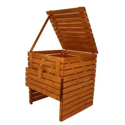 Záhradný drevený kompostér 1 200 l