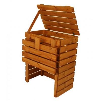 Záhradný drevený kompostér - 400 l