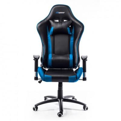 Kancelárska stolička - kreslo IDAHO - modrá