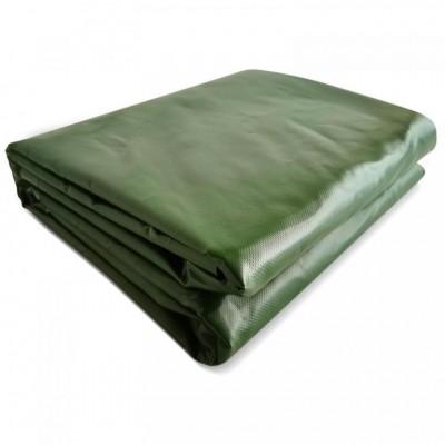 JAGO Plachta 650 g/m², hliníkové oká, zelená, 4 x 6 m