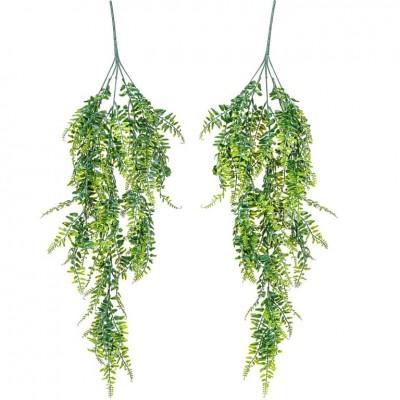 PLANTASIA Umelá závesná rastlina, 80 cm, 2 kusy